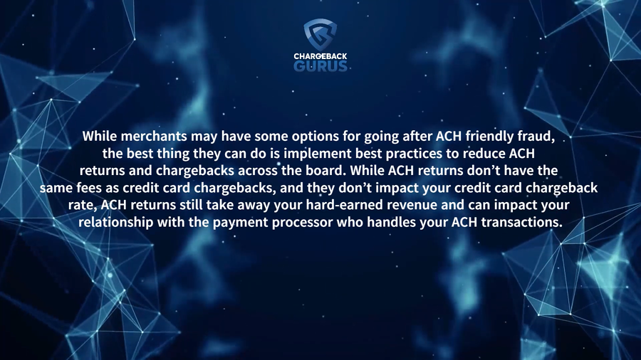 ACH Chargeback fees
