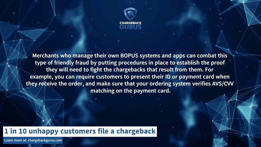 BOPUS fraud
