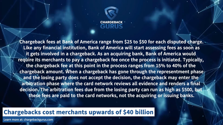 How To Handle Bank Of America Chargebacks In 2020