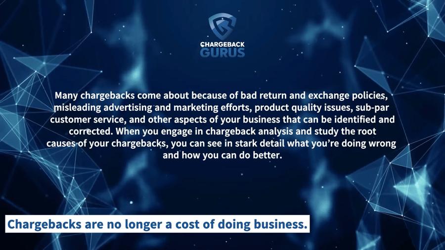 Bank of America Chargeback Reasons