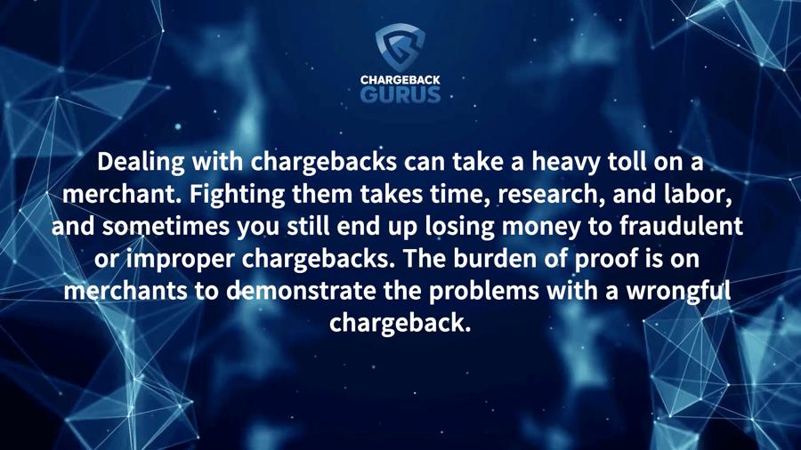 Chargeback Problem