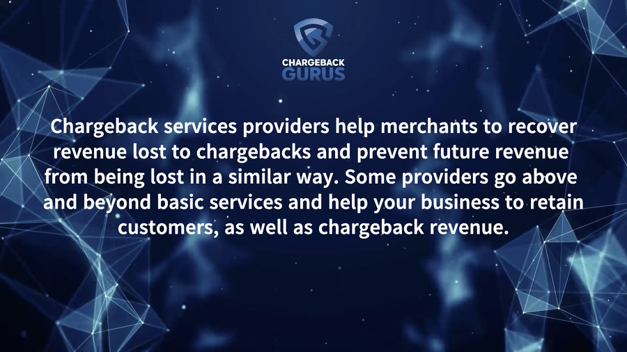 Chargeback Services Provider