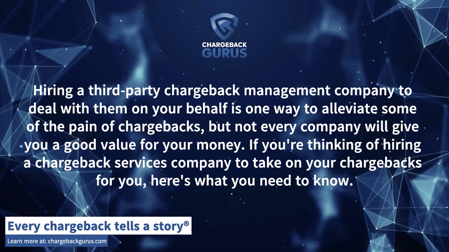 Chargeback Services ROI