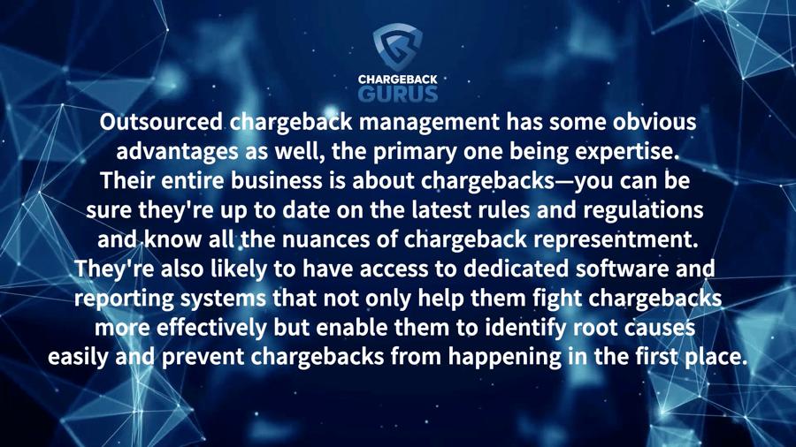 Chargeback management advantages