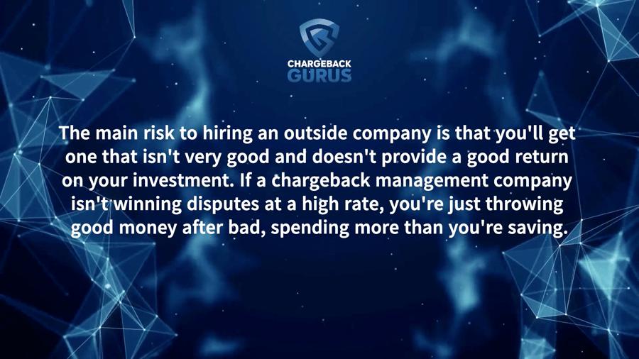 Chargeback Management Risk