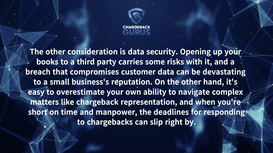Chargeback Services Data Security
