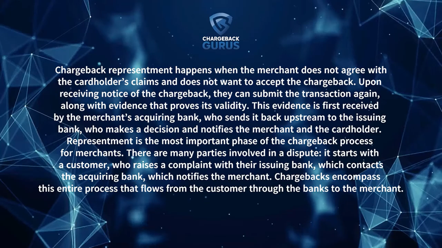 chargeback representment for merchants