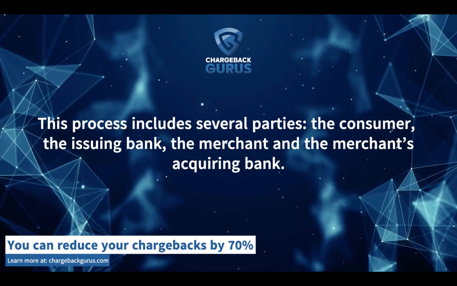 Who is involved in a chargeback?