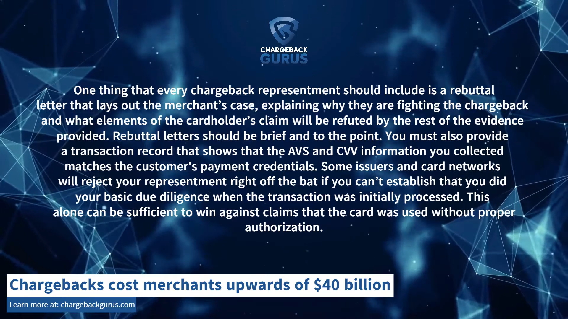 how to win a chargeback