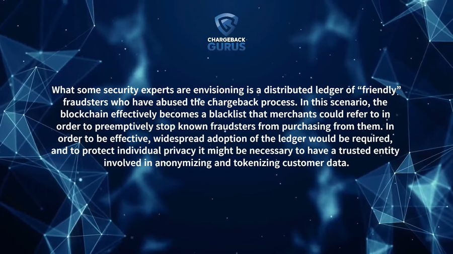 Distributed Ledger Technology Friendly Fraud