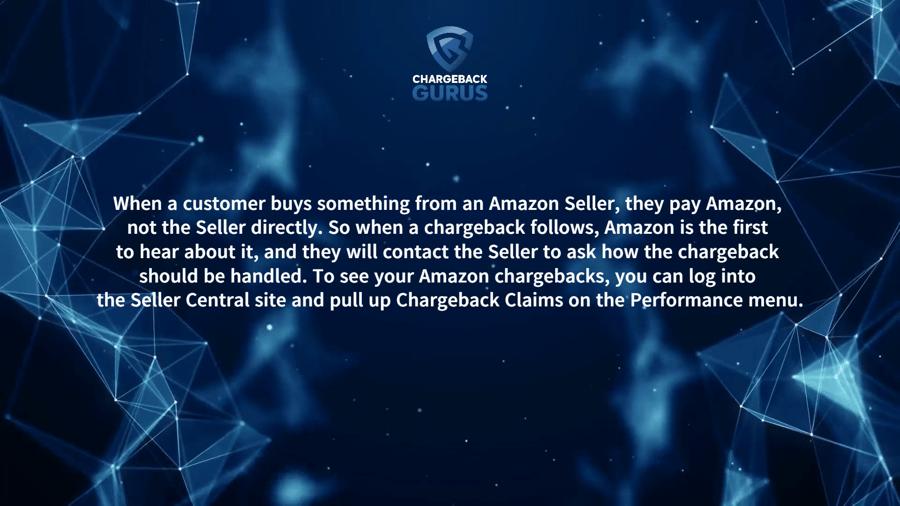 Amazon seller chargebacks