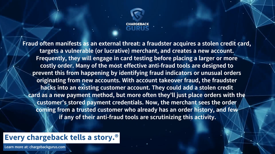 Account Takeover Anti-fraud tools