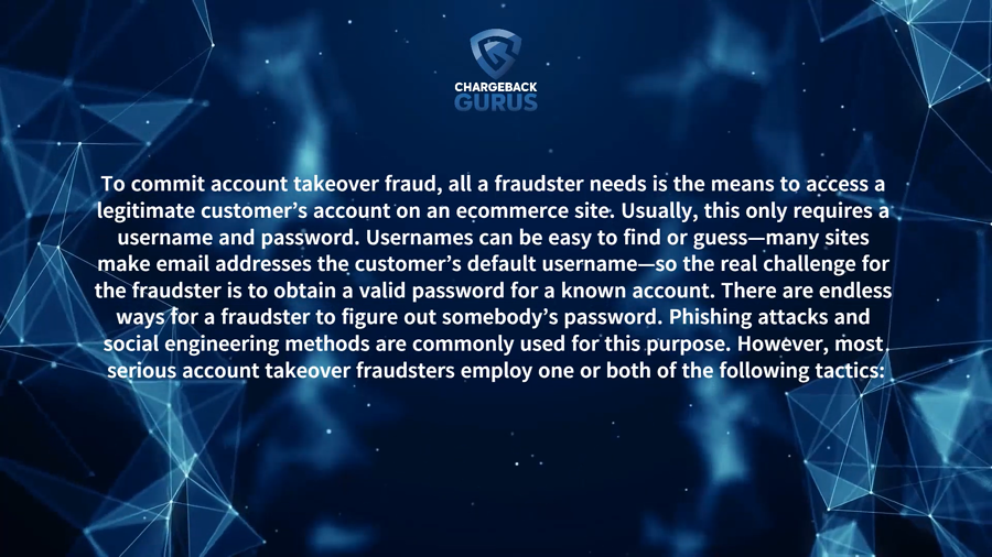 Account Takeover Fraud and Phishing
