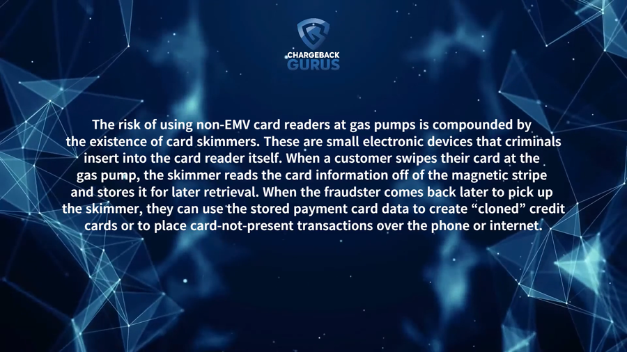 gas station chargeback prevention