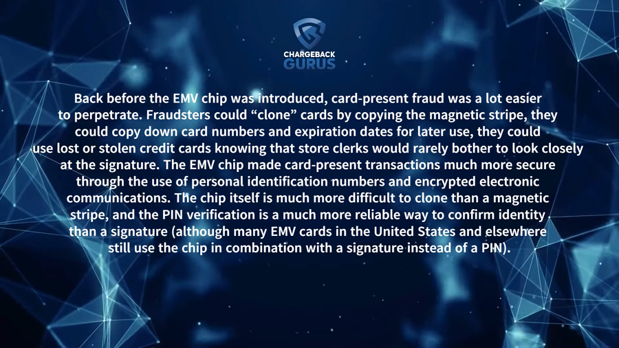 EMV chips and CNP fraud