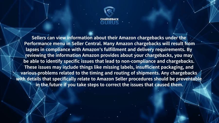 Amazon merchant error chargebacks