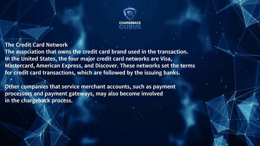Card networks and chargebacks