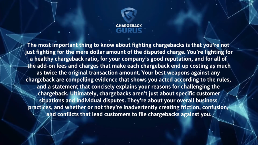 Why Fight Chargebacks
