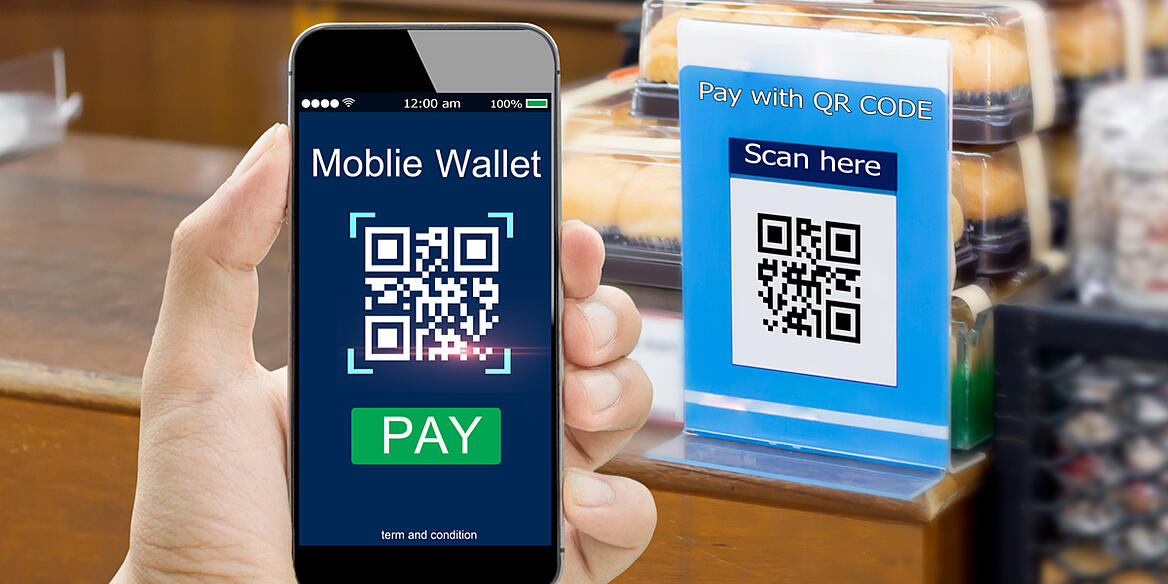 QR code mobile payment