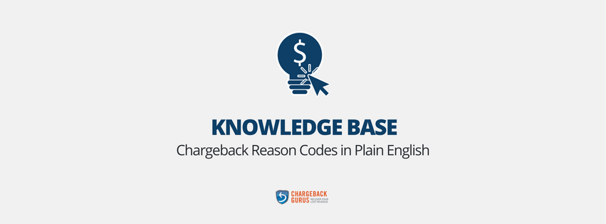 Chargeback Reason Codes in Plain English
